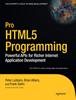 本の抜粋とインタビュー: Pro HTML5 Programming