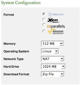 Elastic Server On-Demand System Configuration