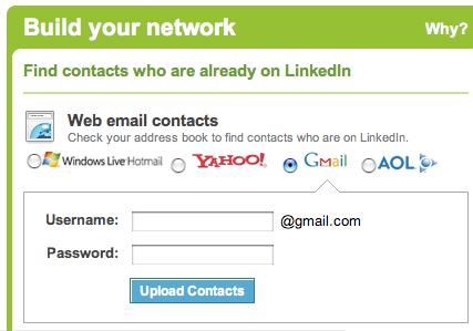 LinkedIn - Build your network