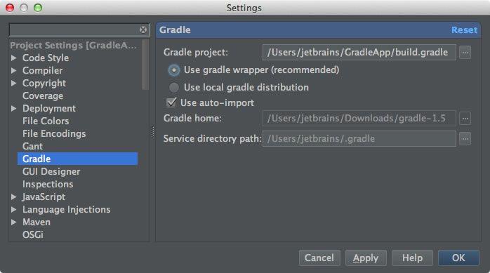 Gradle Properties