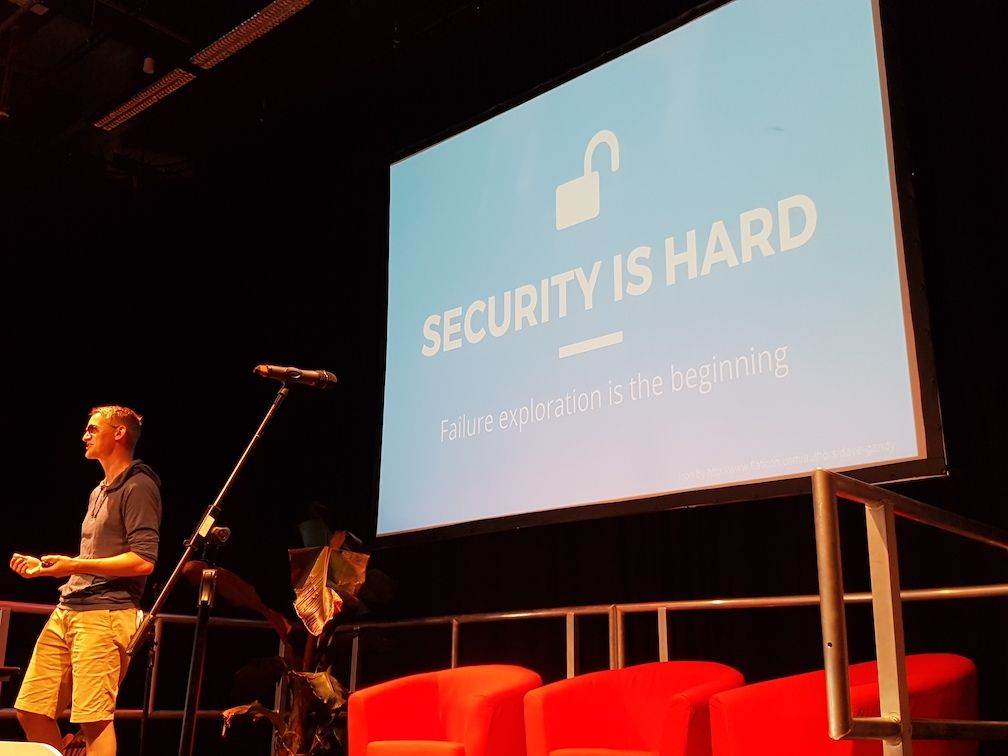 Winder says Container Security is Hard