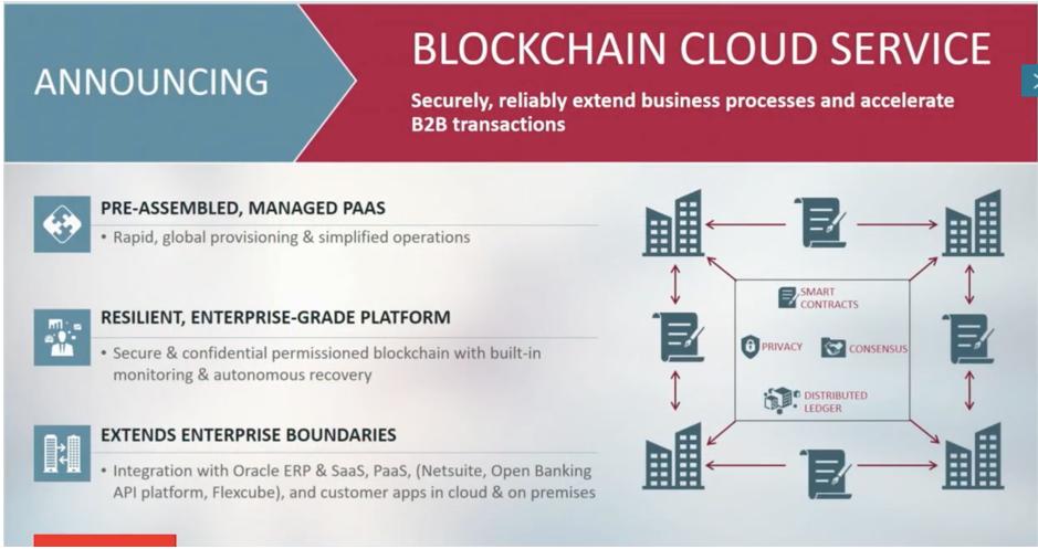 Blockchain Cloud Service