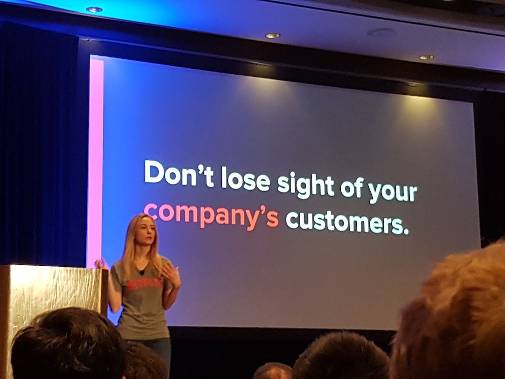 Don't lose sight of your customer