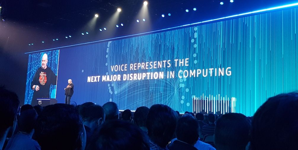 Voice represents the next major disruption