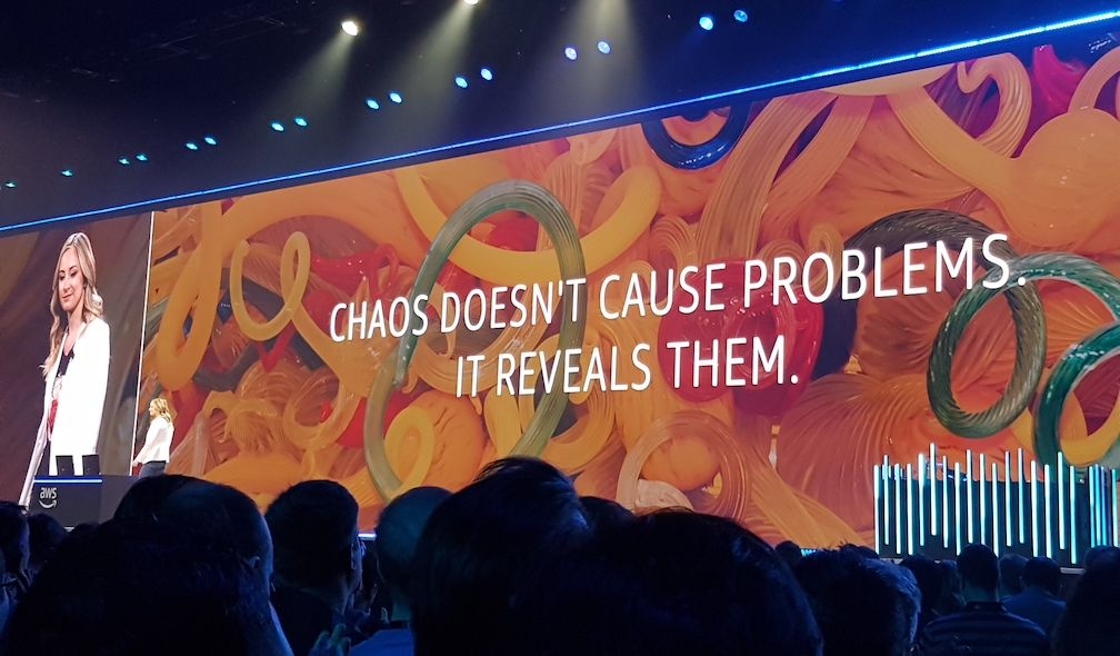 Chaos doesn't cause problems - it reveals them