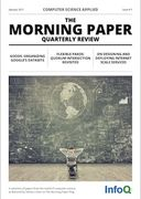 The Morning Paper Issue 3 - Computer Science Applied