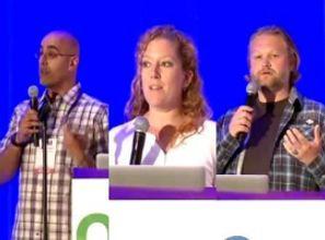 Mini-talks: OS/App Inversion, Testing & Living Databases