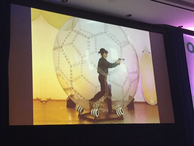 Giant Hamster Ball VR Environment