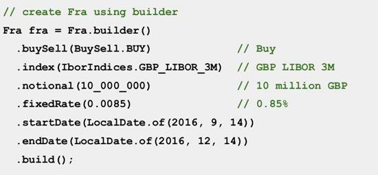 Strata: FRA builder example
